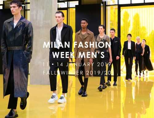 MILAN FASHION WEEK MEN'S – 11/14 Gennaio 2019