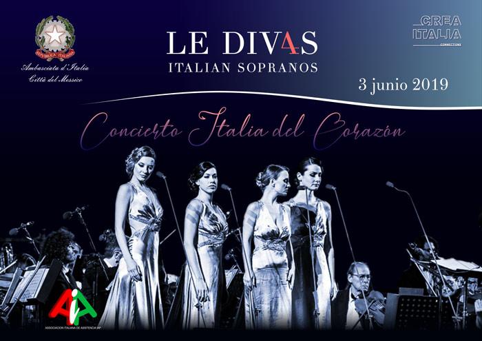 Italia del corazón: concierto de las div4s